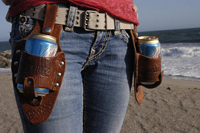 Double Holstar Beer Holsters