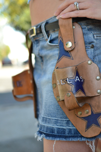 Cowboys Beer Holster