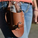The Plano Holstar - Medium Brown with Leather Loop