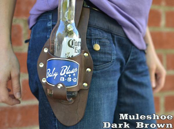 dark-brown-muleshoe-holstar-beer-holster-baby-blues-bbq