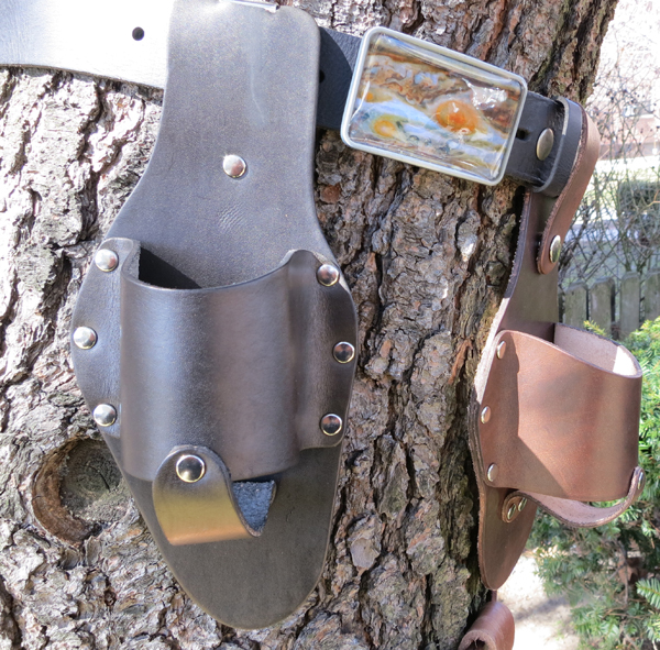 Black-and-Dark-Brown-Plano-Holstar-Beer-Holster-with-Solar-System-Belt-Buckle