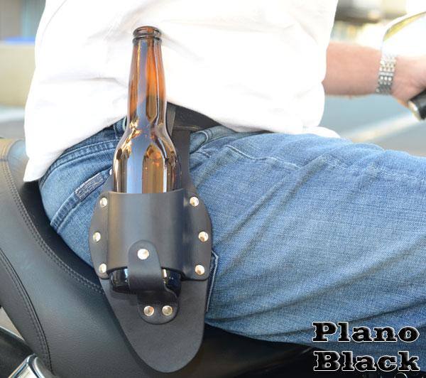 black-plano-motorcycle-beer-holster