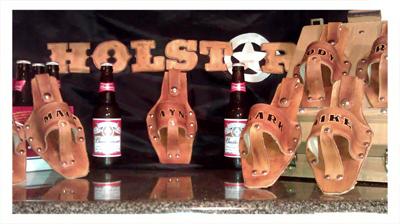 Groomsmen Beer Holsters